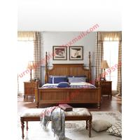 Louis-Philippe de France Style King Bed with Wardrobe in Bedroom Furniture sets Manufactures