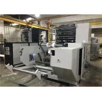 6 / 4 Colors Flexographic Printing Machine , Flexo Press Machine 100 M/Min Max Printing Speed Manufactures