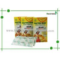 High Efficiency Botanical Slimming Pills of Pai You Guo with Fruits for Waist Weight Loss Manufactures
