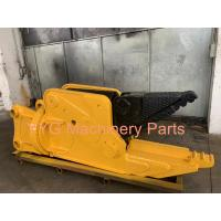 Heavy Duty Scrap Metal Hydraulic Shears For Excavator Double Cylinder 100% New Manufactures