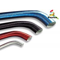 Colorful Aluminum Flexible Car Exhaust Hose Heat Protection With Paper Craft Manufactures