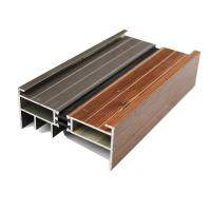Quality Aluminum extrusion profile , sliding wardrobe door accessories for sale