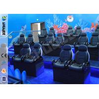 Quality Entertainment Motion Leather Theater Chairs For Big XD Theater With Eletronic for sale