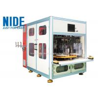 China Automatic 4 working stations stator coil winding machine for Submersible generator on sale