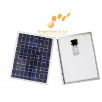 Poly Crystalline 50W 18V Solar Panel Manufactures