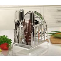 Strong Bearing Kitchen Organiser Rack , No Tools Required Kitchen Knife Organizer Manufactures