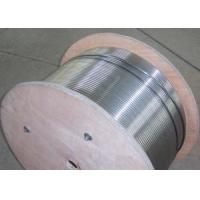 Buy cheap Stainless Steel Hydraulic Control Line , Control Line Tubing 50-4000m Length from wholesalers