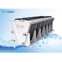 Water Cooled Industrial Refrigeration Evaporators Stainless Steel Tube 3/8'' 1/2'' Manufactures