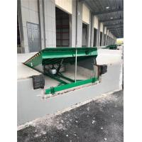 China 10 Ton Hydraulic Dock Levelers Loading Dock Plate With AC 380V 50HZ Power on sale
