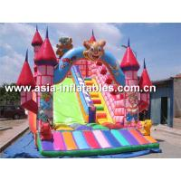 Customized Inflatable Dry Slide In Teddy Bear Design For Sale Manufactures
