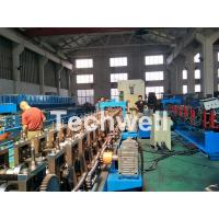 18 forming stations Auto Changeover Cable Tray Roll Forming Machine with PLC Electrical Control Manufactures