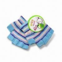 Eco-friendly Children's Gloves, Made of 100% Cotton, Available in Customized Designs Manufactures