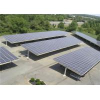 Outdoor Carport Solar Systems Waterproof Photovoltaic Panel High Stability Manufactures