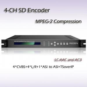 IPTV SD Encoder Four-Channel IPTV Programs Video Processor Manufactures
