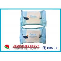 Antibacterial  Baby Wet Wipes One Time Cleaning For Home Holiday Manufactures