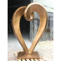 Garden Artwork Modern Outdoor Sculpture Heart Love Shape Hand Art Sculpture Manufactures