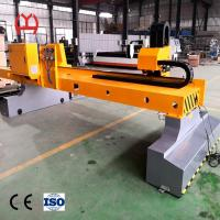 High Accuracy Fiber Laser Pipe Cutting Machine , Steel Tube Cutting Machine Low Maintenance Manufactures
