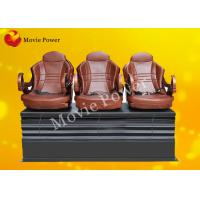 Push Back / Electric Shock 3 DOF Motion Theater Seats / Chair With Wood Frame Manufactures