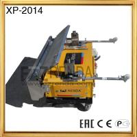 High Productivity Concrete Plastering Machine with Remote Controller