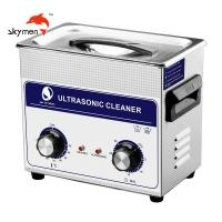 Dental Lab Instrument Cleaning Pcb Ultrasonic Cleaner 3L 120W 40Khz Electric Fuel Manufactures