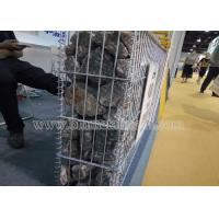 Welded Wire Mesh Gabion Boxes Stone Cage/welded Gabion Basket Manufactures