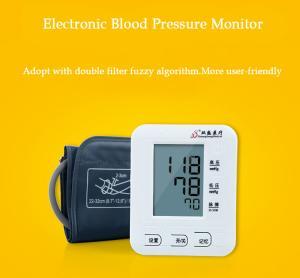 China Upper Arm  Electronic Blood Pressure Cuff , Blood Pressure Measuring Machine Lightweight on sale