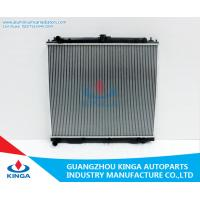 Water - Cool Aluminum Auto Radiator For Nissan Navara D40 4CYL Diesel Manual Transmission Type Manufactures