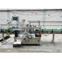 Front / back and Wrap Around Label Applicator , Label Applicator Machine For Bottles Manufactures