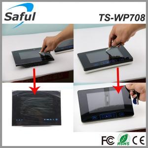China 100pcs pictures taking 300 meters transmission wireless video door intercom video peephole door camera on sale