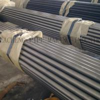 ASTM A53 Black Hot - Dipped ERW Steel Tube , Zinc - Coated Welded Seamless Gas Pipe Manufactures