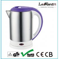 China 360 degree rotational cordless electric kettle with 1.7L capacity on sale