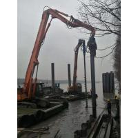 Small Volume Concrete Pile Driving Equipment Low Noise During Construction Manufactures