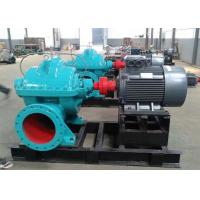 Electric / Diesel Engine Double Suction Split Case Pump Horizonal Installation Manufactures