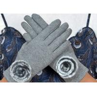 Warm Super Soft Phone Friendly Gloves , Texting Winter Gloves With Smart Touch  Manufactures