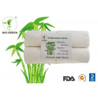 China White Soft Bamboo Charcoal Nappies , Gentle Bamboo Disposable Nappy Liners on sale