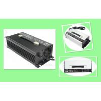 Intelligent 60V Battery Charger, 25A Portable Battery Charger With Black Silver Aluminum Case Manufactures