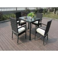 China Outdoor Patio Furniture Chair Set , Aluminum Frame Dining Room Set on sale