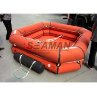 4 / 6 / 8 Person Inflatable Life Raft Leisure Inflatable Raft For Emergency Manufactures
