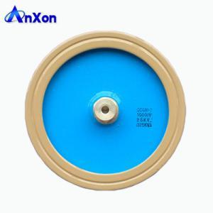 China AnXon CCG81 25KV 1500PF 125KVA Power Disc Ceramic Capacitor for Antenna Communication on sale
