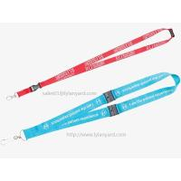 Premium Plastic Safety Breakaway Neck Lanyards, China Factory Wholesale Heavy Duty Neck Straps Manufactures