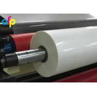 High Gloss Laminate Plastic Roll Thickness 15micron to 30micron Shine BOPP Thermal Lamination Film Manufactures