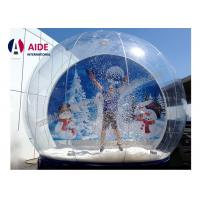 3M Diameter Inflatable Snow Globe Giant Airbown Snow Balloon For Kids Fun Manufactures