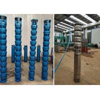Quality 55kw 75hp Pencil Water Pumps , Stainless Steel Submersible Pump IP68 Protection for sale