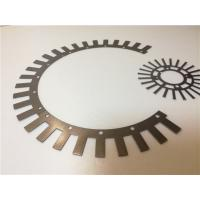 Customized Electrical Lamination Stamping , Transformer Electric Motor Stator Sheets Manufactures