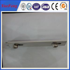 6063-T5 customized Aluminum solar panel mounting rail/bracket/accessories Manufactures