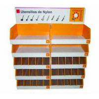 China Cardboard Retail Half Pallet Display , Point Of Purchase Displays For Knife on sale