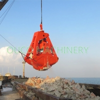Dredging Hydraulic Clamshell Grab Manufactures