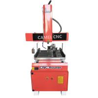 high precision Aluminum brass copper steel metal engraving 6060 cnc metal router price Manufactures