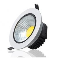 Energy Efficiency COB 3w - 10w LED Recessed Downlights with CE ROHS Manufactures