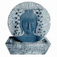 Wall Fountain with Buddha Design, Made of Polyresin Manufactures